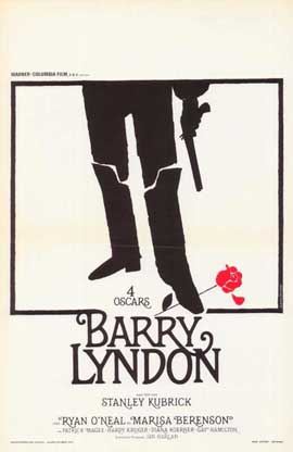 Barry Lyndon - 11 x 17 Movie Poster - Belgian Style A
