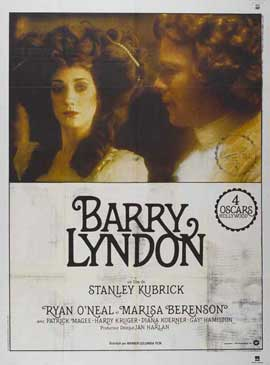Barry Lyndon - 27 x 40 Movie Poster - French Style A