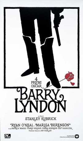 Barry Lyndon - 27 x 40 Movie Poster - Italian Style A