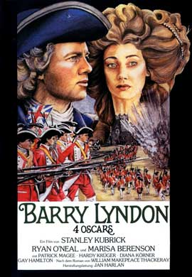 Barry Lyndon - 11 x 17 Movie Poster - German Style A