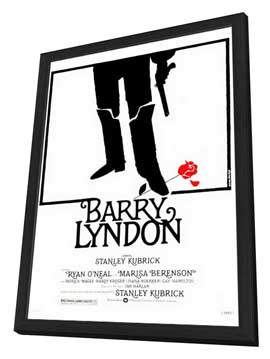Barry Lyndon - 27 x 40 Movie Poster - Style A - in Deluxe Wood Frame