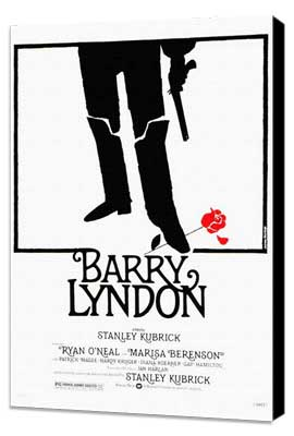 Barry Lyndon - 27 x 40 Movie Poster - Style A - Museum Wrapped Canvas