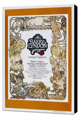 Barry Lyndon - 27 x 40 Movie Poster - Style E - Museum Wrapped Canvas