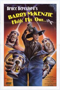 Barry McKenzie Holds His Own - 27 x 40 Movie Poster - Style A