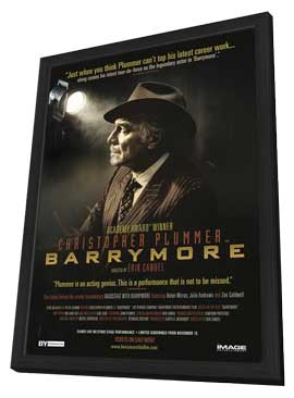 Barrymore - 11 x 17 Movie Poster - Style A - in Deluxe Wood Frame