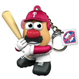 Baseball - MLB Philadelphia Phillies Mr. Potato Head Key Chain