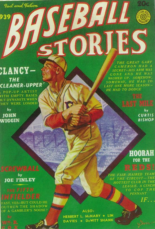 Baseball Stories Pulp Movie Poster