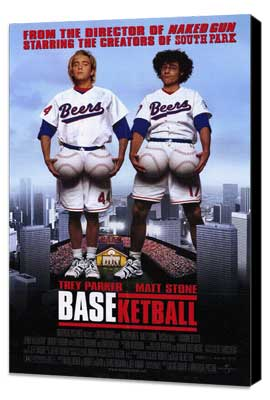BASEketball - 27 x 40 Movie Poster - Style A - Museum Wrapped Canvas
