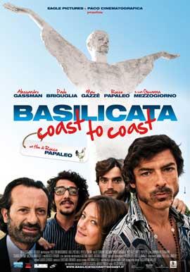 Basilicata Coast to Coast - 11 x 17 Movie Poster - Italian Style A