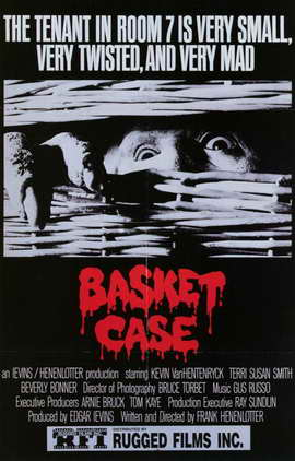 Basket Case - 11 x 17 Movie Poster - Style B