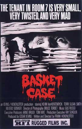 Basket Case - 11 x 17 Movie Poster - Style C