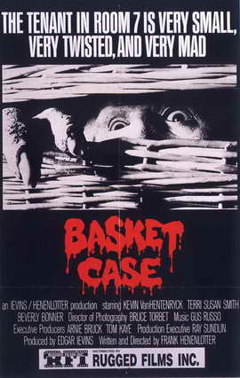 Basket Case - 27 x 40 Movie Poster - Style C