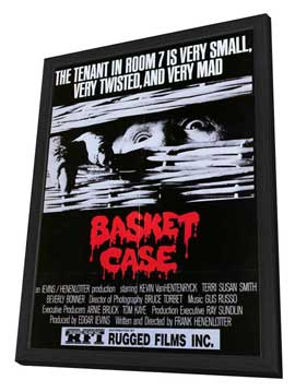 Basket Case - 27 x 40 Movie Poster - Style B - in Deluxe Wood Frame