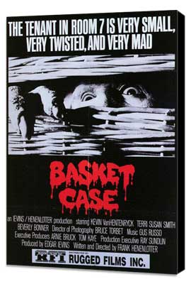 Basket Case - 27 x 40 Movie Poster - Style B - Museum Wrapped Canvas