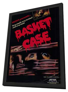 Basket Case - 11 x 17 Movie Poster - Style A - in Deluxe Wood Frame
