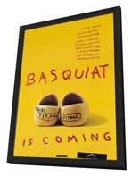 Basquiat - 27 x 40 Movie Poster - Style C - in Deluxe Wood Frame