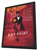 Basquiat - 11 x 17 Movie Poster - Style A - in Deluxe Wood Frame