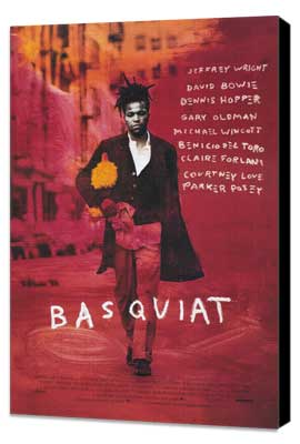 Basquiat - 27 x 40 Movie Poster - Style A - Museum Wrapped Canvas