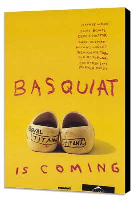Basquiat - 27 x 40 Movie Poster - Style C - Museum Wrapped Canvas
