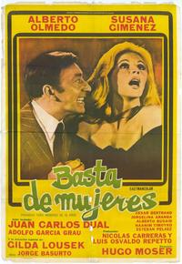 Basta de mujeres - 27 x 40 Movie Poster - Spanish Style A