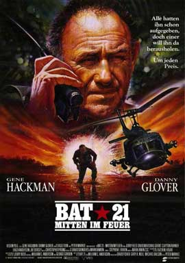 Bat 21 - 11 x 17 Movie Poster - German Style A