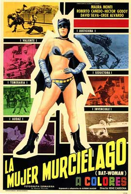 Bat-Woman - 11 x 17 Poster - Foreign - Style A