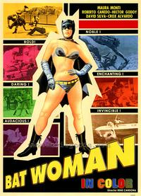 Bat-Woman - 43 x 62 Movie Poster - Bus Shelter Style A