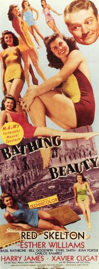 Bathing Beauty - 11 x 17 Movie Poster - Style B