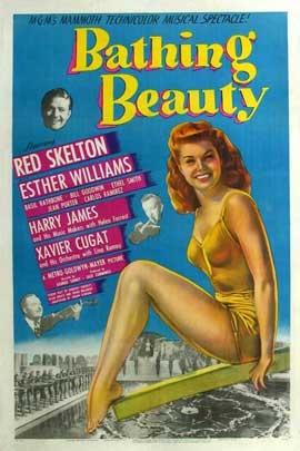 Bathing Beauty - 11 x 17 Movie Poster - Style C
