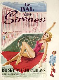 Bathing Beauty - 11 x 17 Movie Poster - French Style A