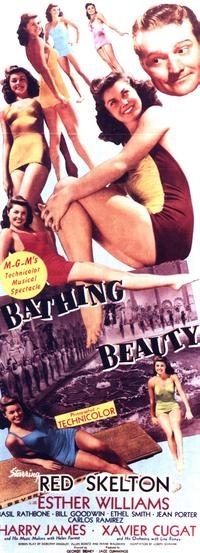 Bathing Beauty - 14 x 36 Movie Poster - Insert Style A