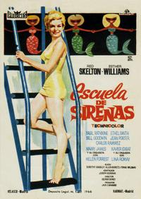 Bathing Beauty - 27 x 40 Movie Poster - Spanish Style A