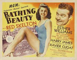 Bathing Beauty - 22 x 28 Movie Poster - UK Style A