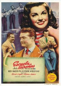 Bathing Beauty - 43 x 62 Movie Poster - Spanish Style A