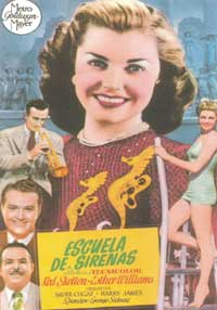 Bathing Beauty - 27 x 40 Movie Poster - Spanish Style C