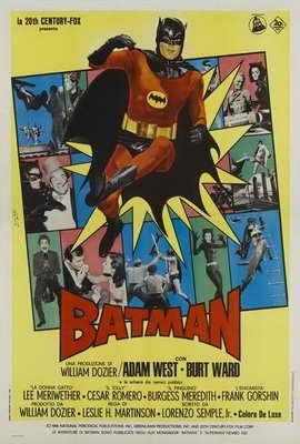 Batman - 27 x 40 Movie Poster - Italian Style A