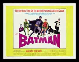 Batman - 22 x 28 Movie Poster - Half Sheet Style A