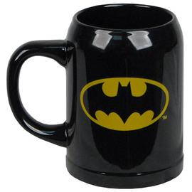 Batman - Logo Black Ceramic Stein