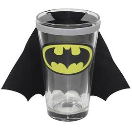 Batman - DC Comics Chest Logo Caped Pint Glass