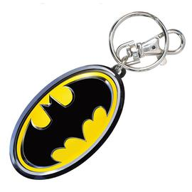 Batman - Logo Colored Pewter Key Chain
