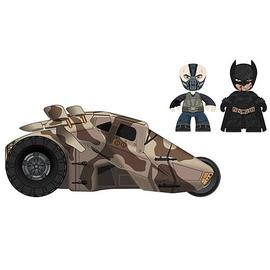 Batman - DKR Mini Mez-Itz Bane and with Tumbler Vehicle
