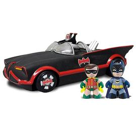 Batman - and Robin DC Mini Mez-Itz with 1966 Batmobile Vehicle