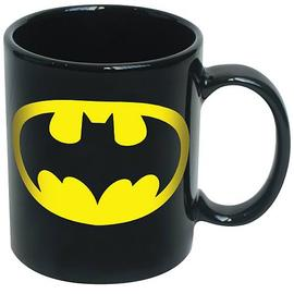 Batman - Logo Black Coffee Mug