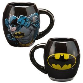 Batman - Shield Logo 18 oz. Ceramic Oval Mug