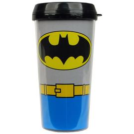 Batman - Uniform 16 oz. Plastic Travel Mug