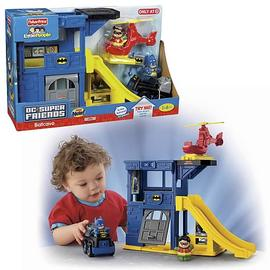 Batman - Little People Super Friends Batcave Playset
