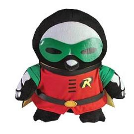 Batman - DC Heroes Skelanimals Robin Pen the Penguin 12-Inch Plush