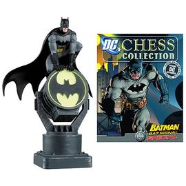 Batman - Bat-Signal Chess Piece with Collector Magazine
