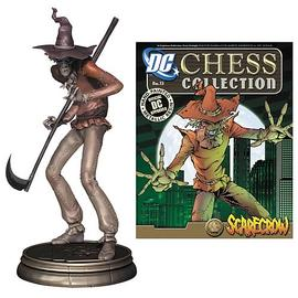 Batman - Superhero Scarecrow Chess Piece & Collector Magazine