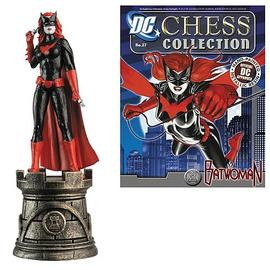 Batman - Batwoman White Rook Chess Piece with Magazine